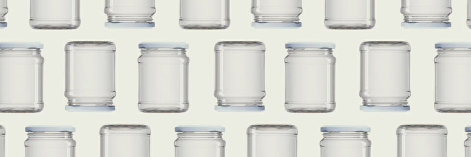 Autoclavable glass containers