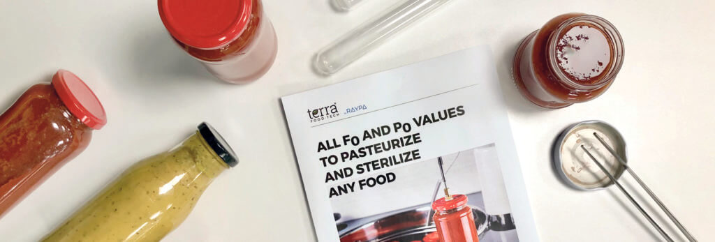 All Fo and Po values to sterilize and pasteurize any food product 1