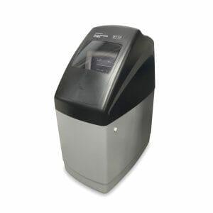 Descalcificador de agua con depósito de agua de 11L de resinas de intercambio iónico