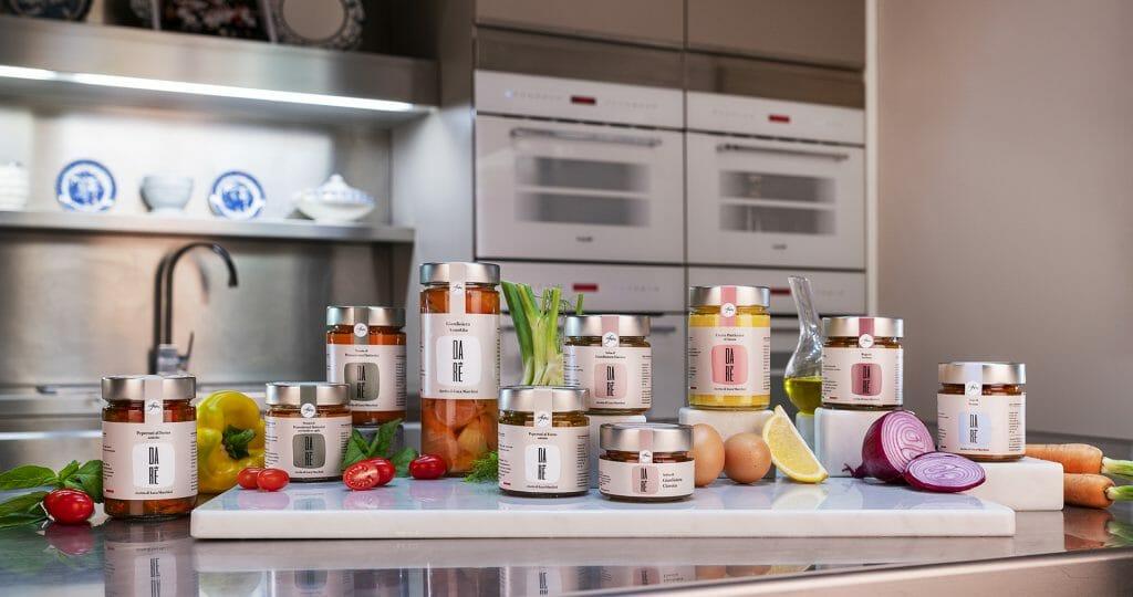 Línea de conservas Bottega da Re del chef estrella Michelin Luca Marchini.