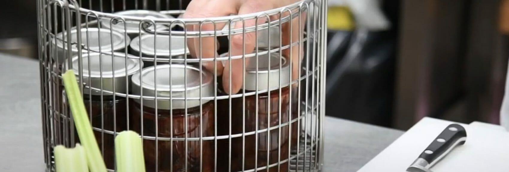 Esterilizador de conservas TERRA Food-Tech