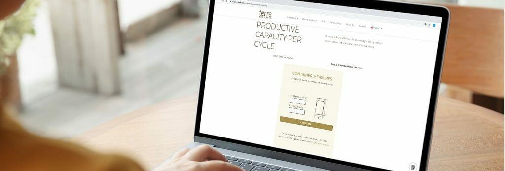 Guia calculadora para conocer capacidad productiva