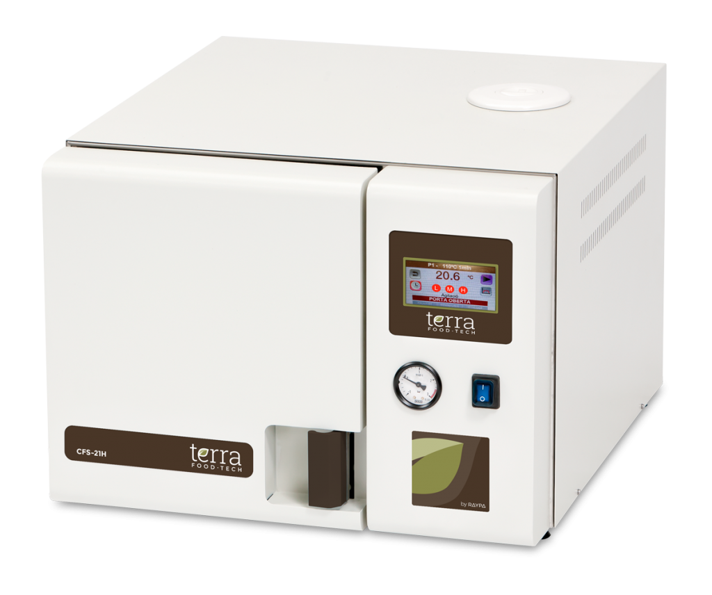 Benchtop autoclave 1