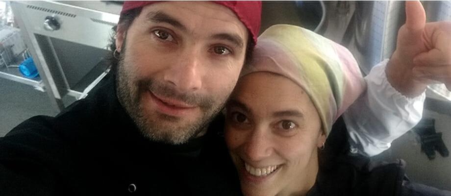 María e Gonzalo, proprietari di Come Frutos del Bosque