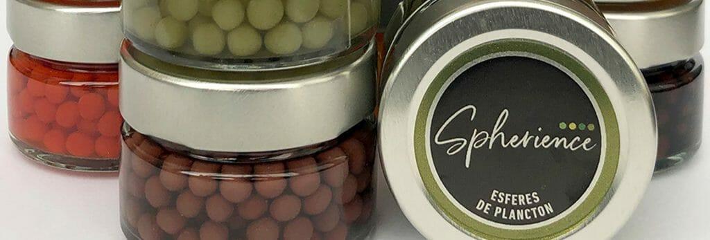 Esferas de gelatina de Spherience
