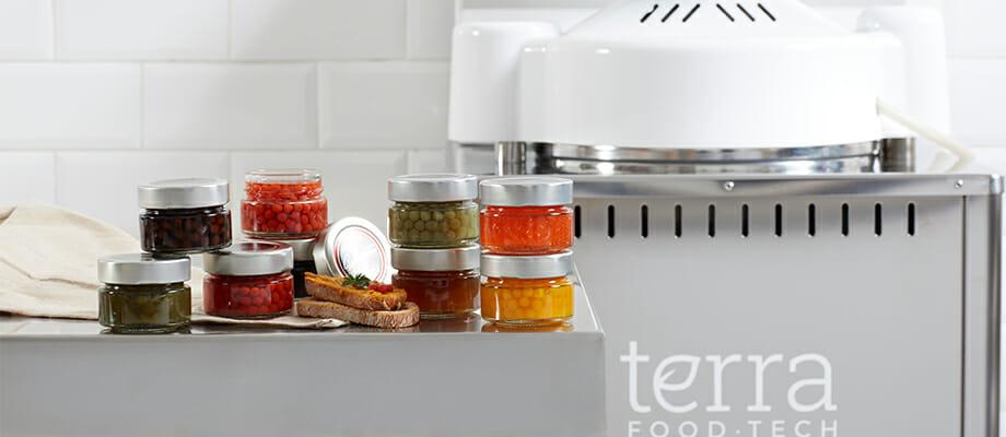 Spherience se elaboran con las autoclaves de TERRA Food-Tech