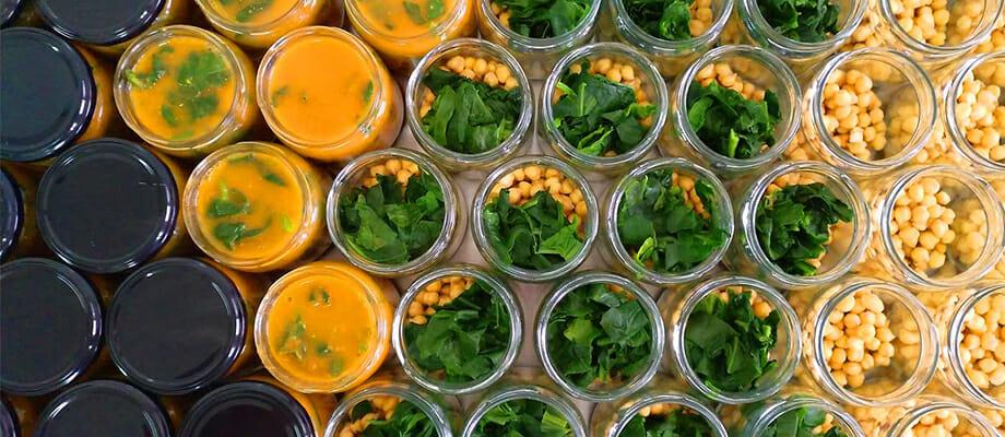 Piatti pronti biologici e vegani di Tarro Verde