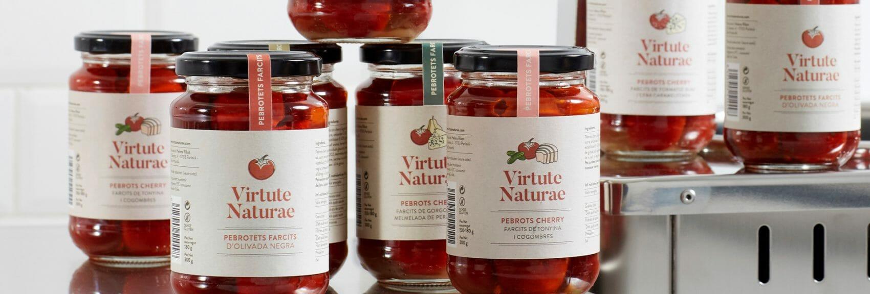 Conserve Virtute Naturae realizzate con le autoclavi TERRA Food-Tech