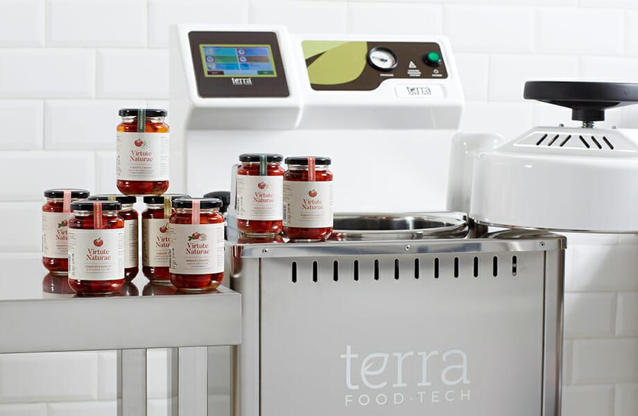 Conservas Virtute Naturae esterilizadas con la autoclave TERRA Food-Tech