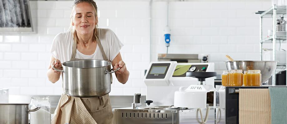 Comment éviter d'éventuelles changements d'odeur des conserves lors de leur stérilisation ?