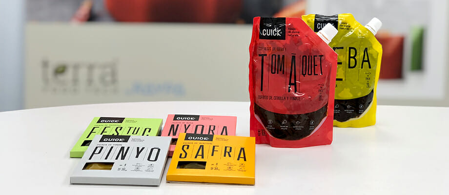 Sofritos y bases CUICK elaborados con las autoclaves de TERRA Food-Tech