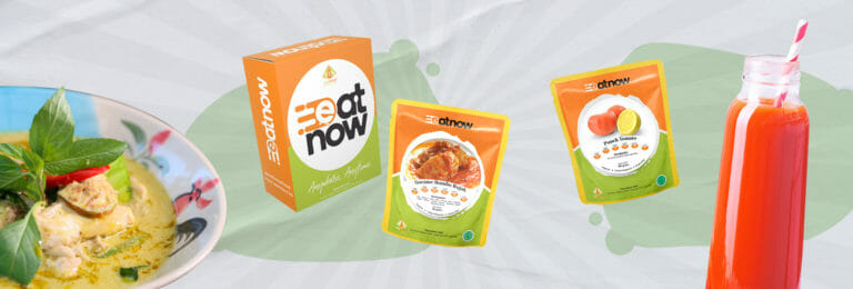 EatNow Food, un prodotto di MyMeal Catering in Indonesia