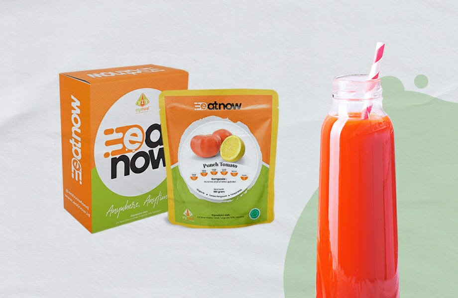EatNow Food takeaway pouch and bottle (MyMeal Catering)