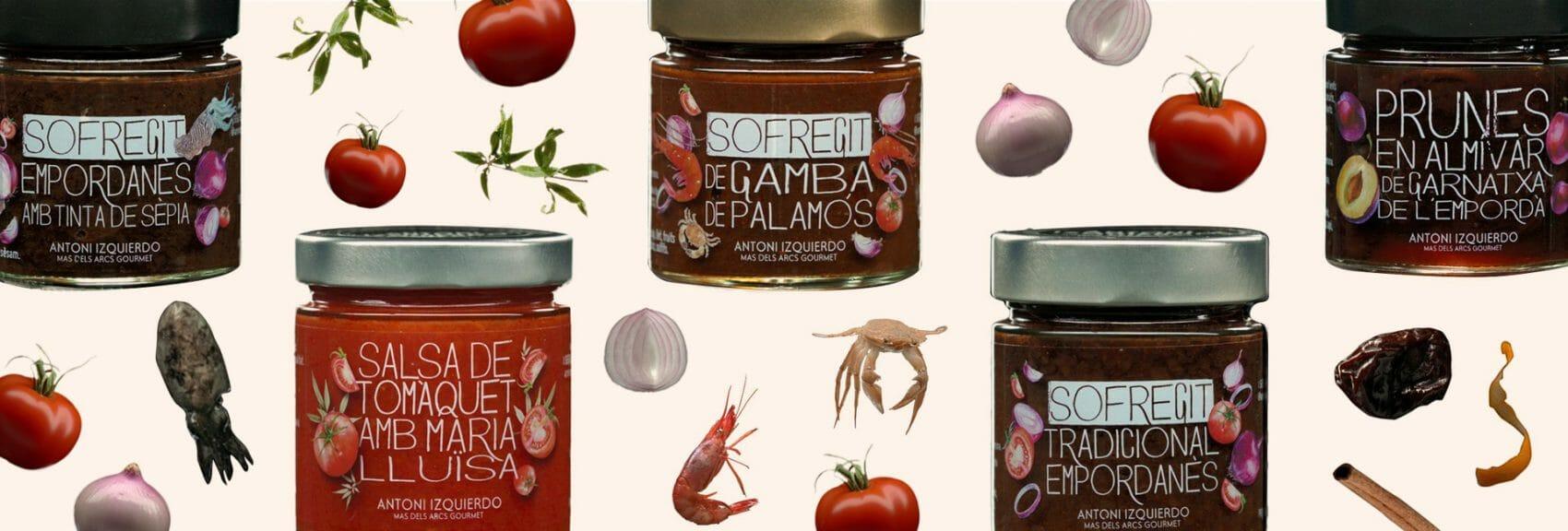 Variedad de conservas Antoni Izquierdo Gourmet