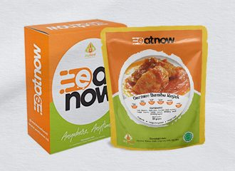EatNow Food Indonesian healthy food pouch